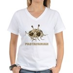Pastafarian Women's V-Neck T-Shirt