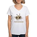 Pastafarian Women's V-Neck T-Shirt