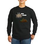 In The Beginning Long Sleeve Dark T-Shirt