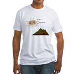 In The Beginning Fitted T-Shirt
