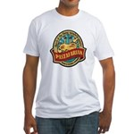 Pastafarian Seal Fitted T-Shirt