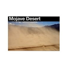 Mojave Desert Rectangle Magnet