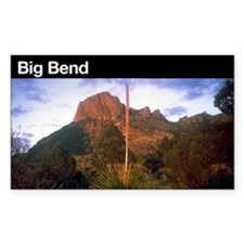Big Bend National Park Rectangle Decal
