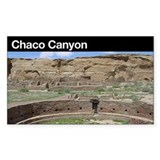 Chaco Canyon NHP Rectangle Decal