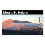 Mount St. Helens Rectangle Decal