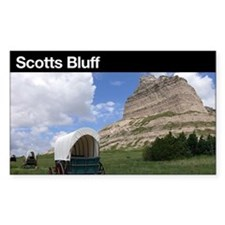 Scotts Bluff NM Rectangle Decal