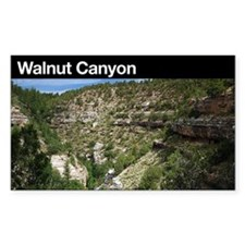 Walnut Canyon NM Rectangle Decal