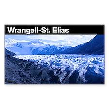 Wrangell-St. Elias NP Rectangle Decal
