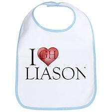 I Heart Liason Bib