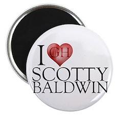 I Heart Scotty Baldwin Magnet