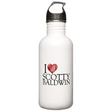 I Heart Scotty Baldwin Stainless Water Bottle 1.0L