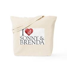 I Heart Sonny & Brenda Tote Bag