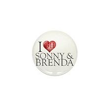 I Heart Sonny & Brenda Mini Button (10 pack)