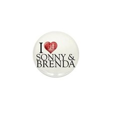I Heart Sonny & Brenda Mini Button (100 pack)