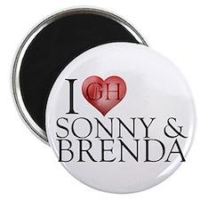 I Heart Sonny & Brenda Magnet