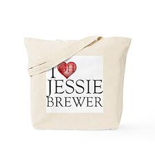 I Heart Jessie Brewer Tote Bag