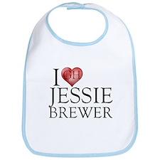 I Heart Jessie Brewer Bib