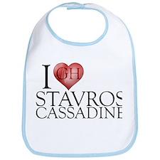 I Heart Stavros Cassadine Bib