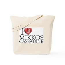 I Heart Mikkos Cassadine Tote Bag