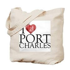I Heart Port Charles Tote Bag