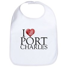 I Heart Port Charles Bib