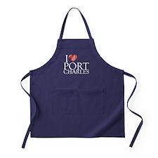 I Heart Port Charles Dark Apron