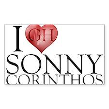 I Heart Sonny Corinthos Sticker (Rectangle)