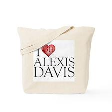 I Heart Alexis Davis Tote Bag