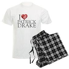 I Heart Patrick Drake Men's Light Pajamas