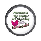 Unique Lpn Wall Clock