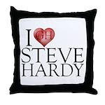 I Heart Steve Hardy Throw Pillow