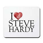 I Heart Steve Hardy Mousepad