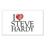 I Heart Steve Hardy Sticker (Rectangle 10 pk)