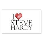 I Heart Steve Hardy Sticker (Rectangle 50 pk)