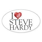 I Heart Steve Hardy Sticker (Oval 50 pk)