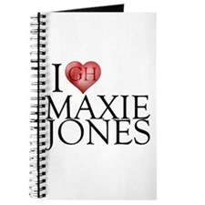 I Heart Maxie Jones Journal