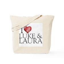 I Heart Luke & Laura Tote Bag