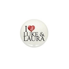 I Heart Luke & Laura Mini Button (10 pack)
