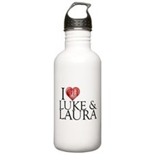 I Heart Luke & Laura Stainless Water Bottle 1.0L