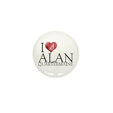 I Heart Alan Quartermaine Mini Button (100 pack)