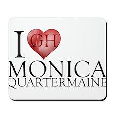 I Heart Monica Quartermaine Mousepad