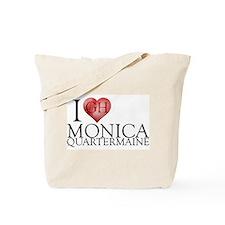 I Heart Monica Quartermaine Tote Bag