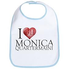 I Heart Monica Quartermaine Bib