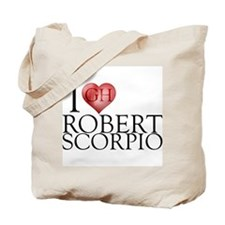 I Heart Robert Scorpio Tote Bag