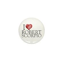 I Heart Robert Scorpio Mini Button (100 pack)
