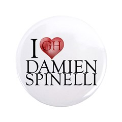 "I Heart Damien Spinelli 3.5"" Button (100 pack)"
