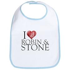 I Heart Robin & Stone Bib