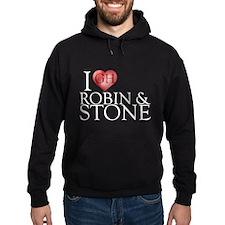 I Heart Robin & Stone Hoodie (dark)