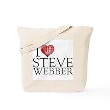 I Heart Steve Webber Tote Bag