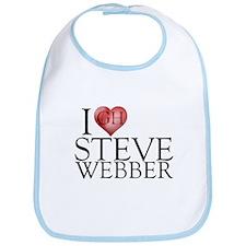 I Heart Steve Webber Bib